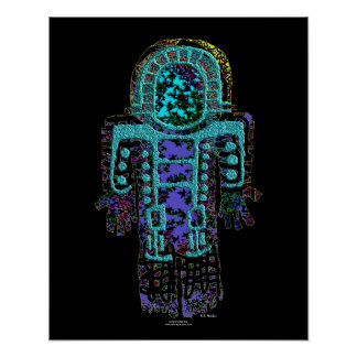 Ancient Astronaut Image 1 1620 Poster