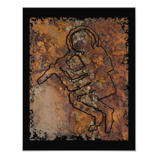 Ancient Astronaut Photographic Print