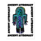 Ancient Astronaut Postcard