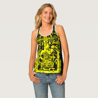 Ancient astronaut tank top