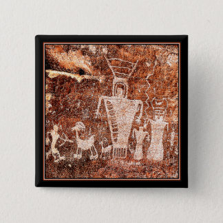 ANCIENT ASTRONAUTS 15 CM SQUARE BADGE