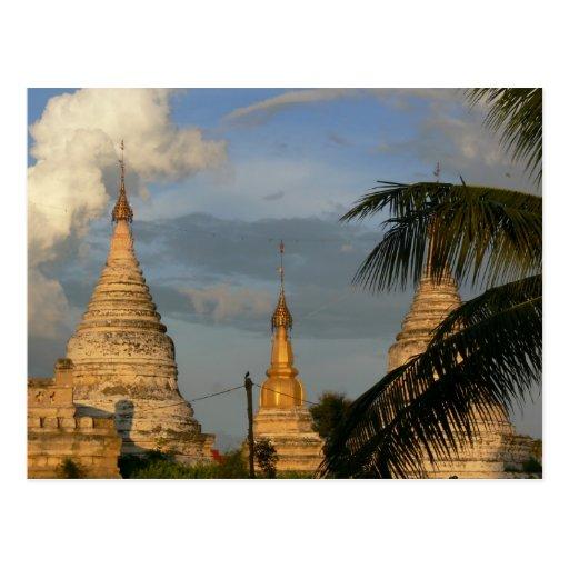 Ancient Bagan Postcard