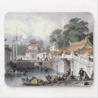 Ancient Bridge over the River at Chapro, c.1850 (c Mouse Mat