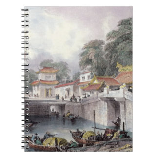 Ancient Bridge over the River at Chapro, c.1850 (c Notebook