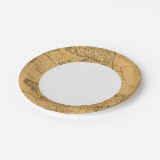 Ancient Britain 7 Inch Paper Plate