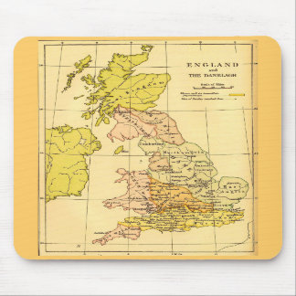Ancient Britain Map Mouse Pad
