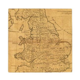 Ancient Britain Wood Coaster