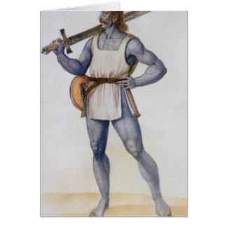 Ancient British Man Card