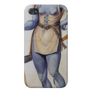 Ancient British Woman Cover For iPhone 4