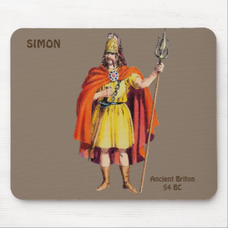~ Ancient Briton COSTUME ~ Personalised for SIMON~ Mouse Mat