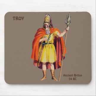 ~ Ancient Briton COSTUME ~ Personalised for TROY ~ Mouse Mat