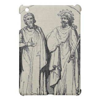 Ancient Britons Druids Antique Engraving Design iPad Mini Cover
