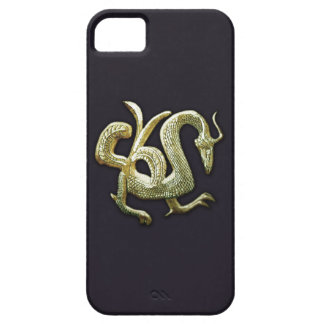 Ancient bronze chinese dragon iPhone 5 case