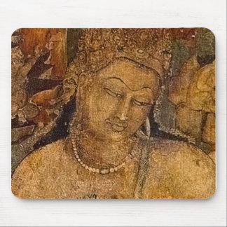 Ancient Buddhist Painting Mouse Pad