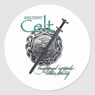 Ancient Celts Classic Round Sticker