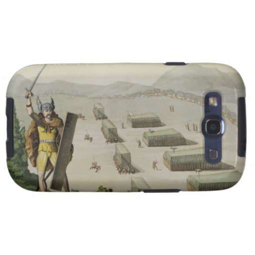 Ancient Celts or Gauls in Battle, c.1800-18 (colou Samsung Galaxy SIII Cover