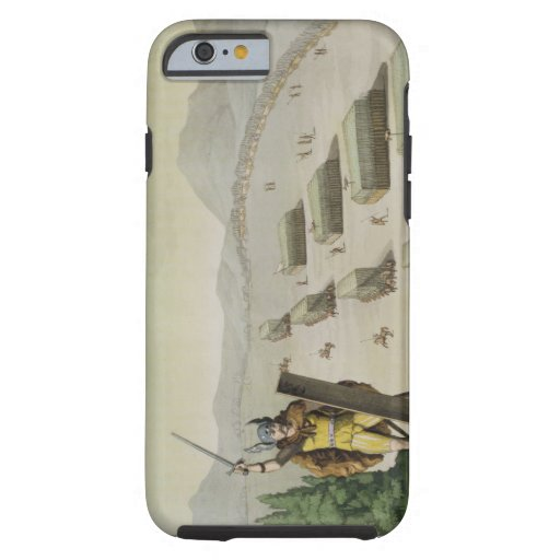 Ancient Celts or Gauls in Battle, c.1800-18 (colou iPhone 6 Case