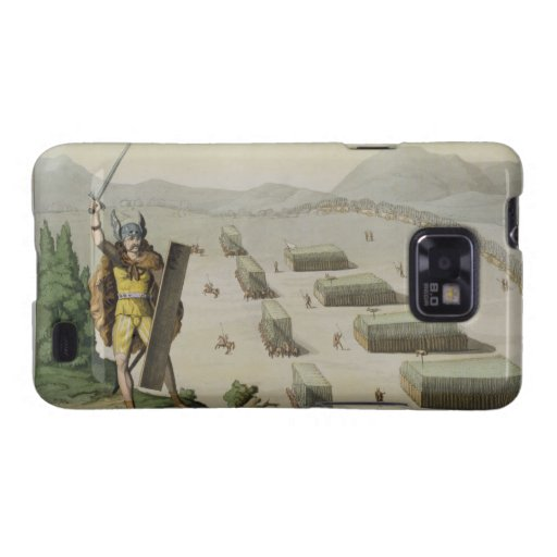 Ancient Celts or Gauls in Battle, c.1800-18 (colou Galaxy S2 Cover
