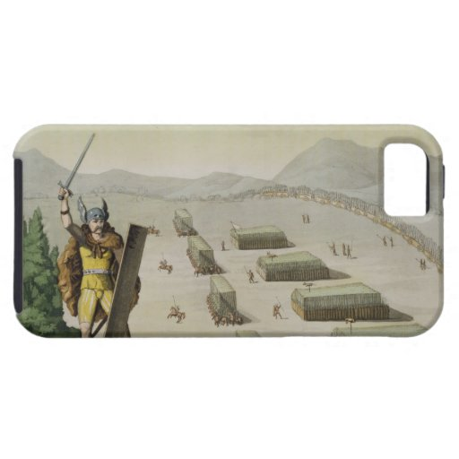 Ancient Celts or Gauls in Battle, c.1800-18 (colou iPhone 5 Cases