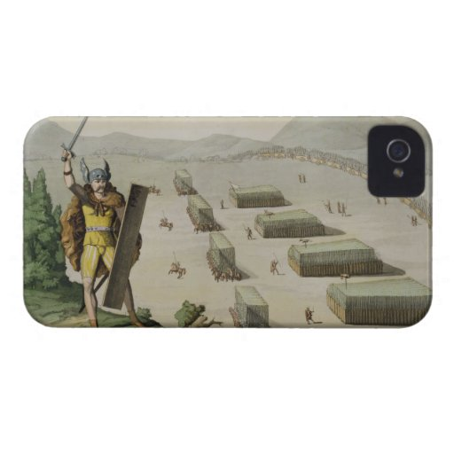 Ancient Celts or Gauls in Battle, c.1800-18 (colou iPhone 4 Case-Mate Cases