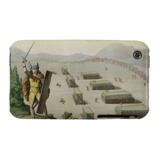 Ancient Celts or Gauls in Battle, c.1800-18 (colou iPhone 3 Case-Mate Cases