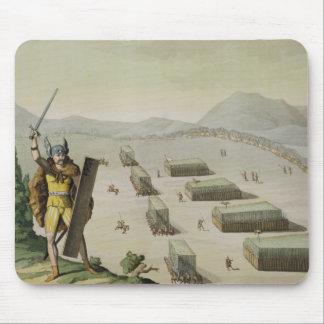 Ancient Celts or Gauls in Battle, c.1800-18 (colou Mouse Mat