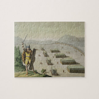 Ancient Celts or Gauls in Battle, c.1800-18 (colou Puzzles