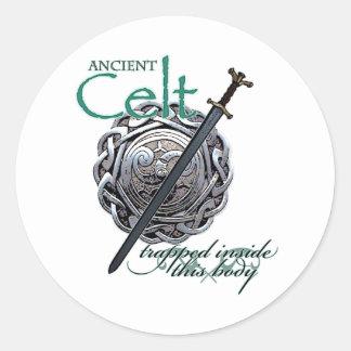 Ancient Celts Round Sticker