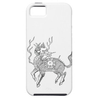 Ancient chinese auspicious dragon horse Lung Ma iPhone 5 Cover