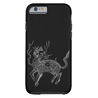 Ancient chinese auspicious dragon horse Lung Ma Tough iPhone 6 Case