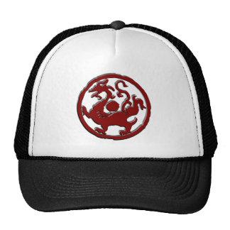 Ancient Chinese symbol Dragon Mesh Hats