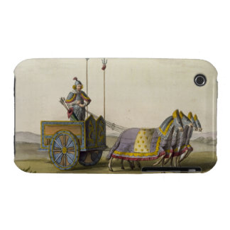 Ancient Chinese War Chariot, from 'Le Costume Anci iPhone 3 Case-Mate Cases