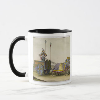 Ancient Chinese War Chariot, from 'Le Costume Anci Mug