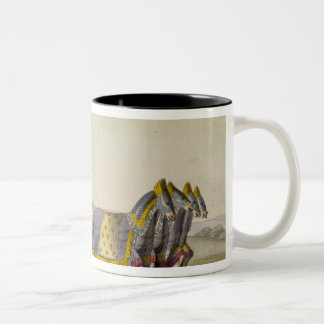 Ancient Chinese War Chariot, from 'Le Costume Anci Two-Tone Coffee Mug
