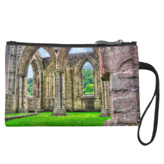 Ancient Cistercian Tintern Abbey 7 Wales, UK Wristlet Purses