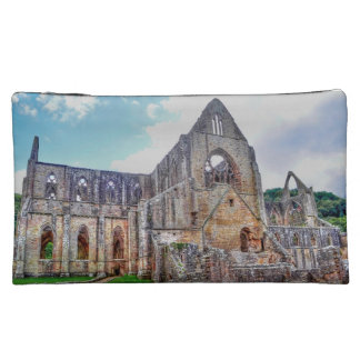 Ancient Cistercian Tintern Abbey Wales, UK Makeup Bags