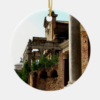 Ancient City Christmas Ornament