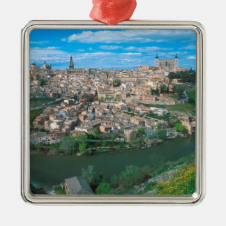 Ancient city of Toledo, Spain. Christmas Ornament