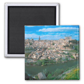 Ancient city of Toledo, Spain. Magnet