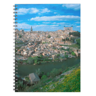Ancient city of Toledo, Spain. Notebook