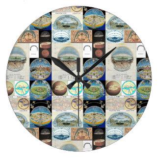 Ancient Civilization Clock
