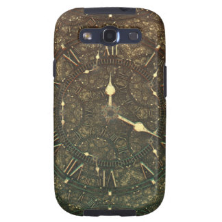 Ancient clock faces galaxy s3 cover