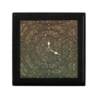 Ancient clock faces gift box