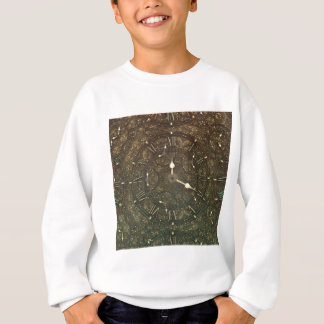 Ancient clock faces sweatshirt