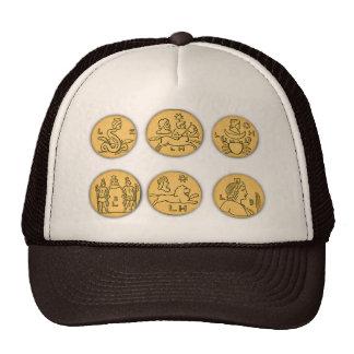 Ancient Coins Mesh Hats
