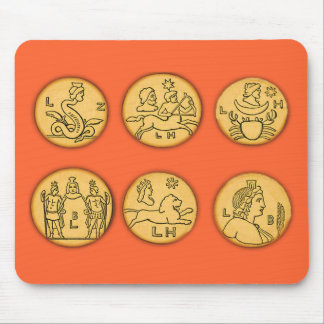 Ancient Coins Mouse Pad