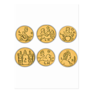 Ancient Coins Postcard