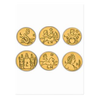 Ancient Coins Postcards
