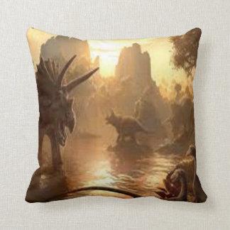 ancient dinosaur cushion