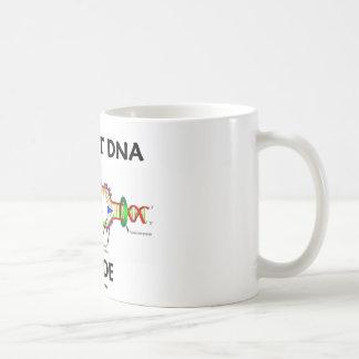 Ancient DNA Inside (DNA Replication Humor) Basic White Mug